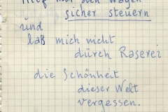 nota en alemán