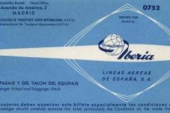 billete de iberia