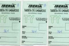 tarjeta de embarque de iberia
