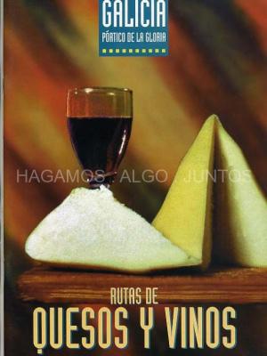 galicia, ruta de quesos y vinos