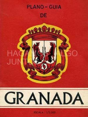 plano guía de granada, foldex