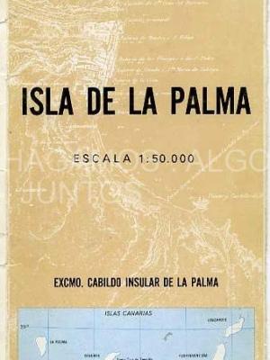 mapa de la isla de la palma