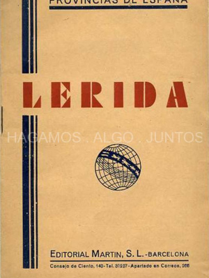 provincias de españa, lérida