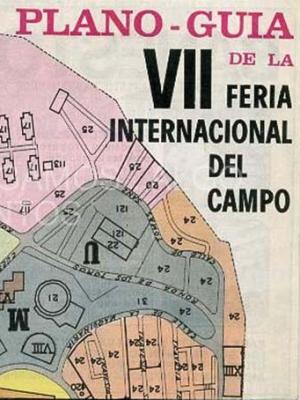 plano guia de la VII feria internacional del campo, casa de campo, madrid