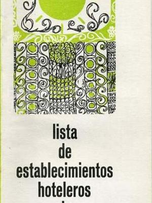 lista de establecimientos hoteleros de málaga, 1968