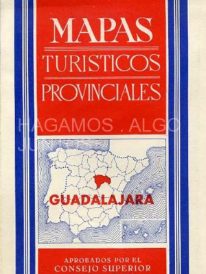 mapas turisticos de guadalajara