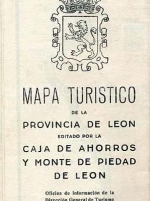 leon, mapa turistico