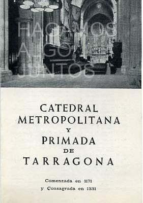 catedral metropolitana y primada de tarragona