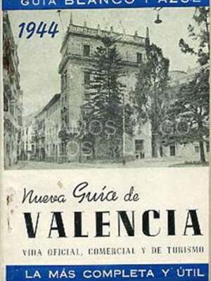 guía blanco y azul 1944, nueva guía de valencia