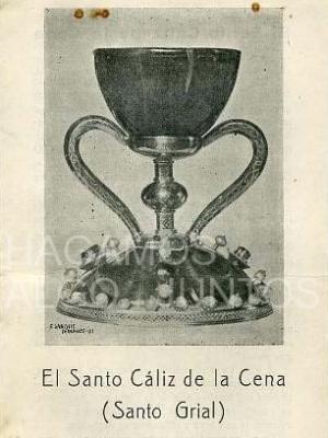 el santo cáliz de la cena (santo grial). catedral de valencia