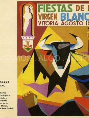 fiestas de la virgen blanca, vitoria agosto 1961