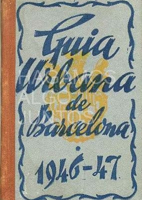 guia urbana de barcelona 1946-1947