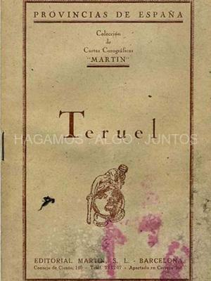 provincias de españa, editorial martin, teruel