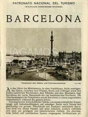 patronato nacional de turismo, barcelona