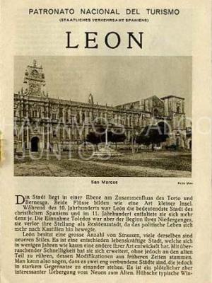 patronato nacional del turismo, león