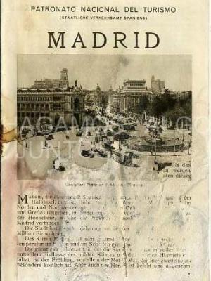 patronato nacional del turismo, madrid