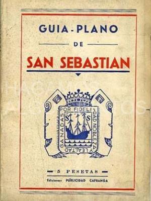 guía plano de san sebastián