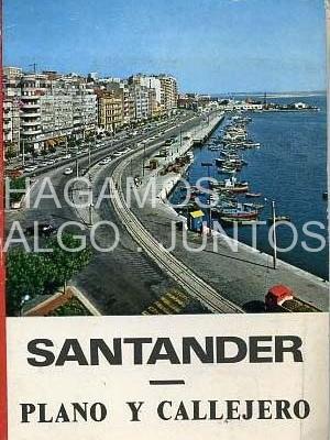 Santander, plano y callejero