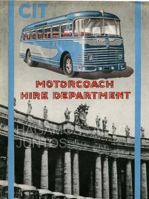 cit, motorcoach hire department, compagnia italiana turismo
