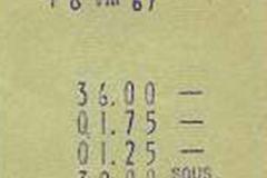 restaurante viscaya, san juan de luz, francia, 18 de agosto de 1967