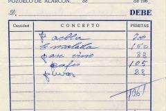 bar restaurante san josé, pozuelo de alarcón, madrid, 21 de junio de 1969