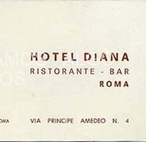 hotel diana, roma