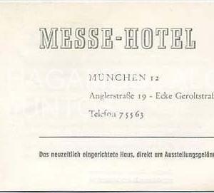 messe hotel munchen