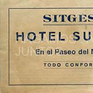 sitges, hotel subur, en el paseo del mar, todo confort