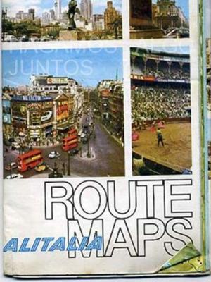alitalia, route maps