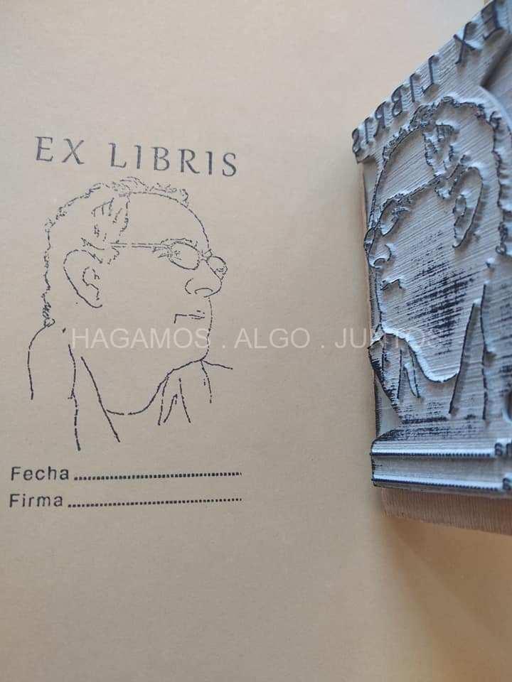 Aplicación de diseño de ex-libris