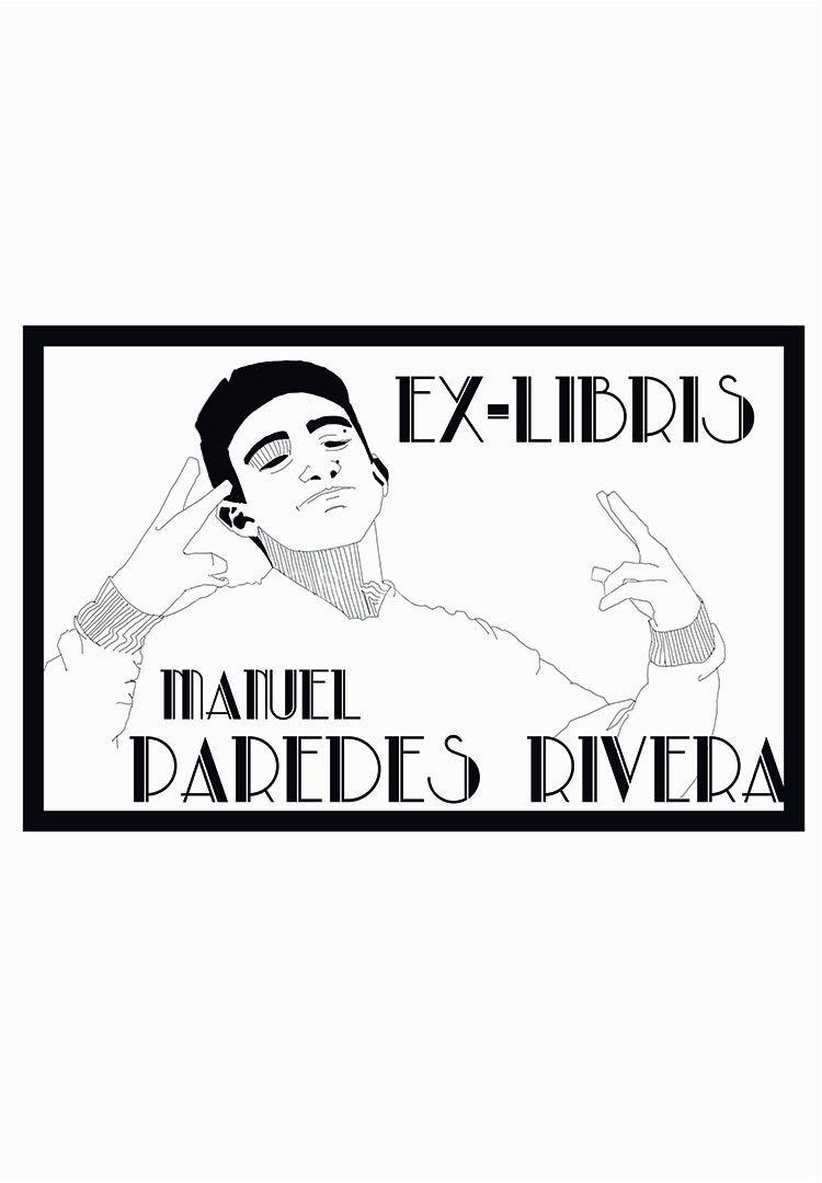 Manuel Paredes Rivera. Ex-libris