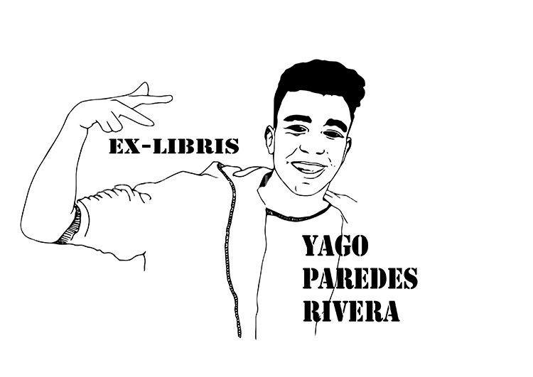Yago Paredes Rivera. Ex-libris