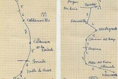mapas 36 y 56, navalcarnero-valdemorillo, el escorial-navalcarnero