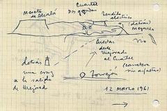 pequeña guía desde torrejón a mejorada, meseta de alcalá. 12 de marzo de 1961