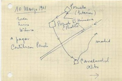 viaje a pozuelo el 10 de mayo de 1961 para pagar la contribución