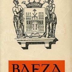 plano de población e itinerario turístico de Baeza