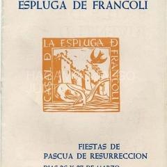 casal de la espluga de francolí, fiestas de pascua de resurrección 1967
