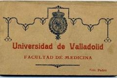 universidad de valladolid, facultad de medicina, postales