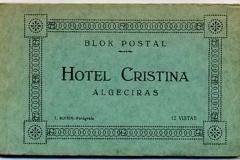 blok postal, hotel cristina, Algeciras, cádiz