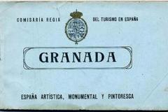 comisaria regia del turismo en españa, granada, españa artística, monumental y pintoresca,