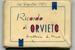 ricordo di orvieto, 1954, italia