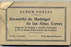 album postal. recuerdo de madrigal de las altas torres, ávila