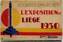 l´exposition de liége 1930, bélgica,