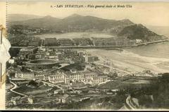 cuaderno de postales de san sebastián