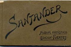 santander, album artístico, edición fuertes