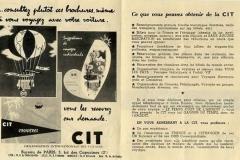 publicidad de cit (compañía italiana de turismo)