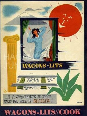 wagons-lits cook, sicilia,