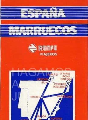 españa marruecos, renfe