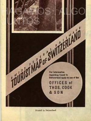swiss federal railway, tourist map of switzerland