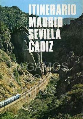 itinerario madrid sevilla cádiz